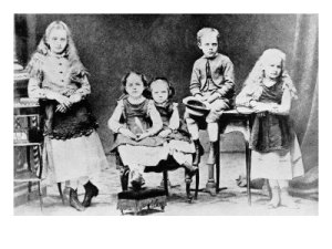Marie and her siblings